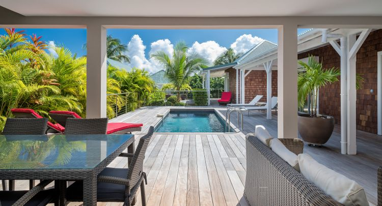 Villa Grand fond Saint Barth